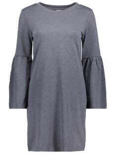 Jacqueline de Yong Jurk JDYPROVE L/S WIDE SL SWEAT DRESS SW 15146670 Dress Blues/MELANGE