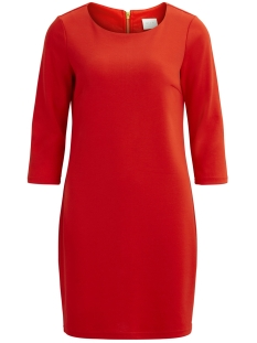 Vila Jurk VITINNY NEW DRESS-FAV 14043495 Chili Pepper