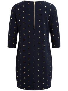 itinny new dress - lux 14043921 vila jurk dark navy/viestralla