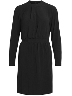 Vila Jurk VICALLIE L/S DRAPE DRESS 14043873 Black