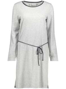 Only Jurk onlMARIZA L/S DRESS SWT 15156631 Light Grey Melange