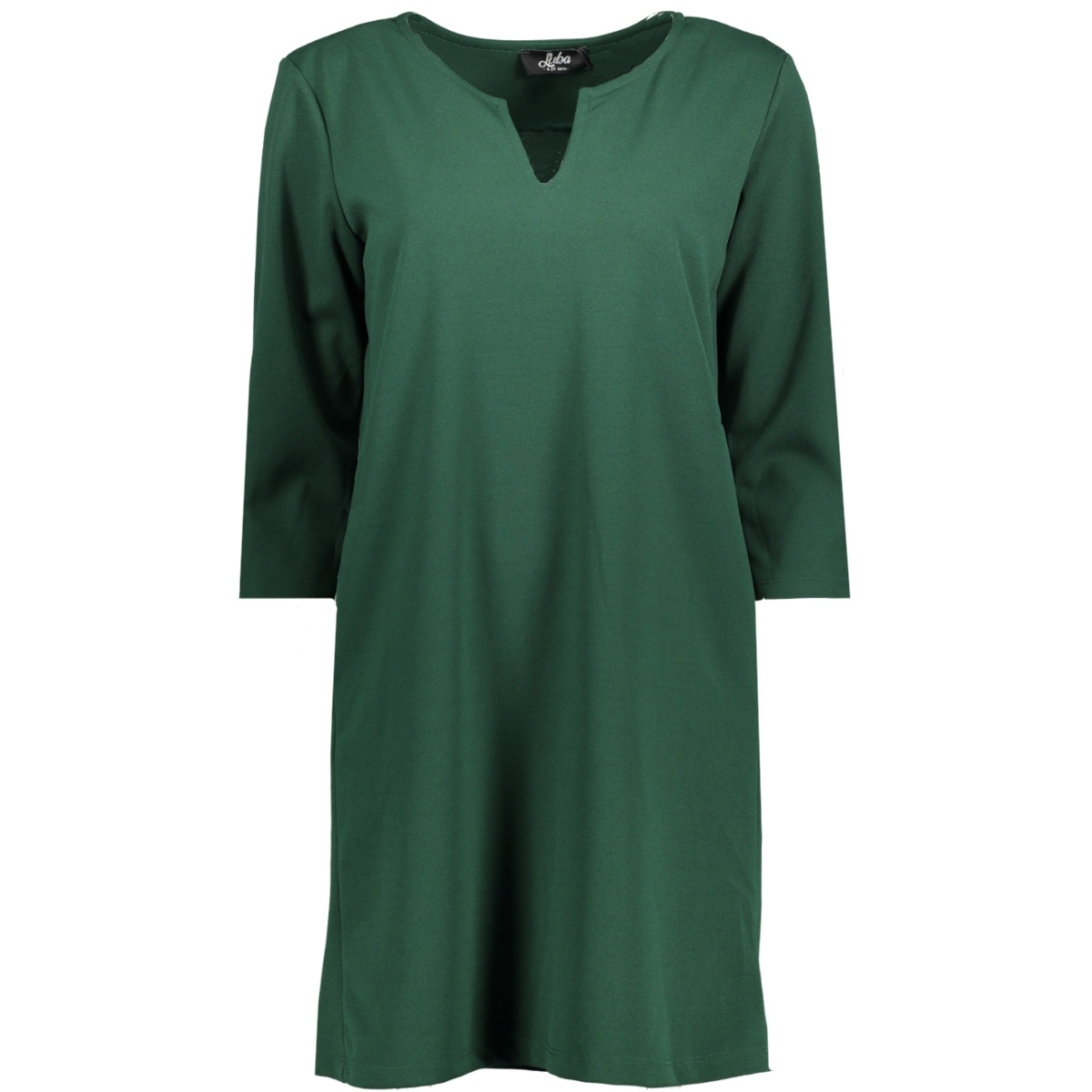 nikita dress pine green luba jurk pine green