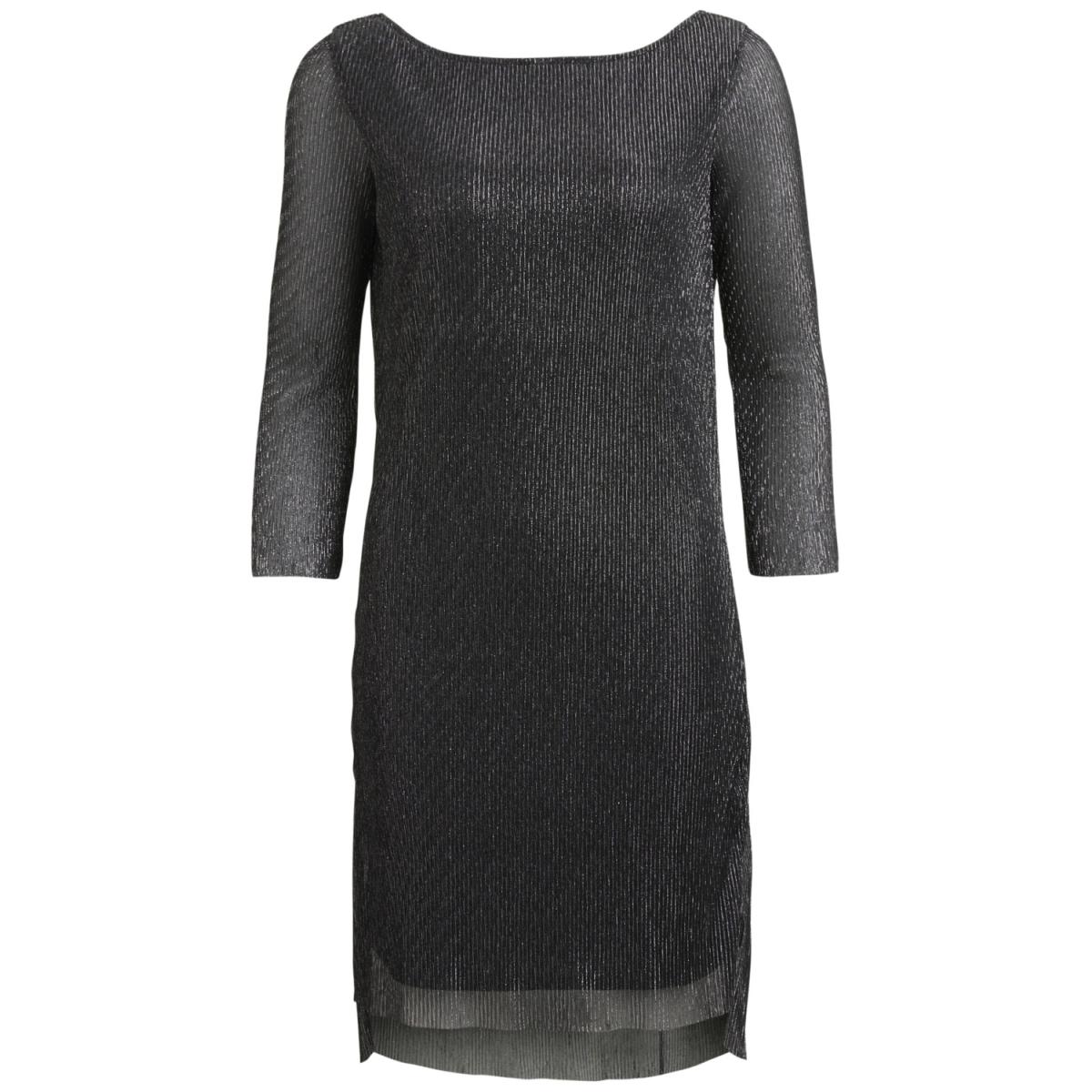 objshimmer 3/4 abk dress apb 23026449 object jurk black