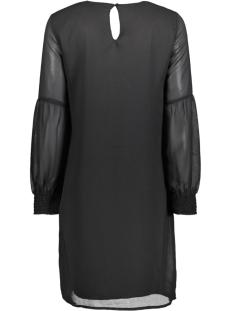 vmrose ls abk dress 10190992 vero moda jurk black/solid