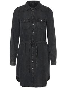 Vero Moda Jurk VMSPACE LS SHIRT DRESS 10189827 Black