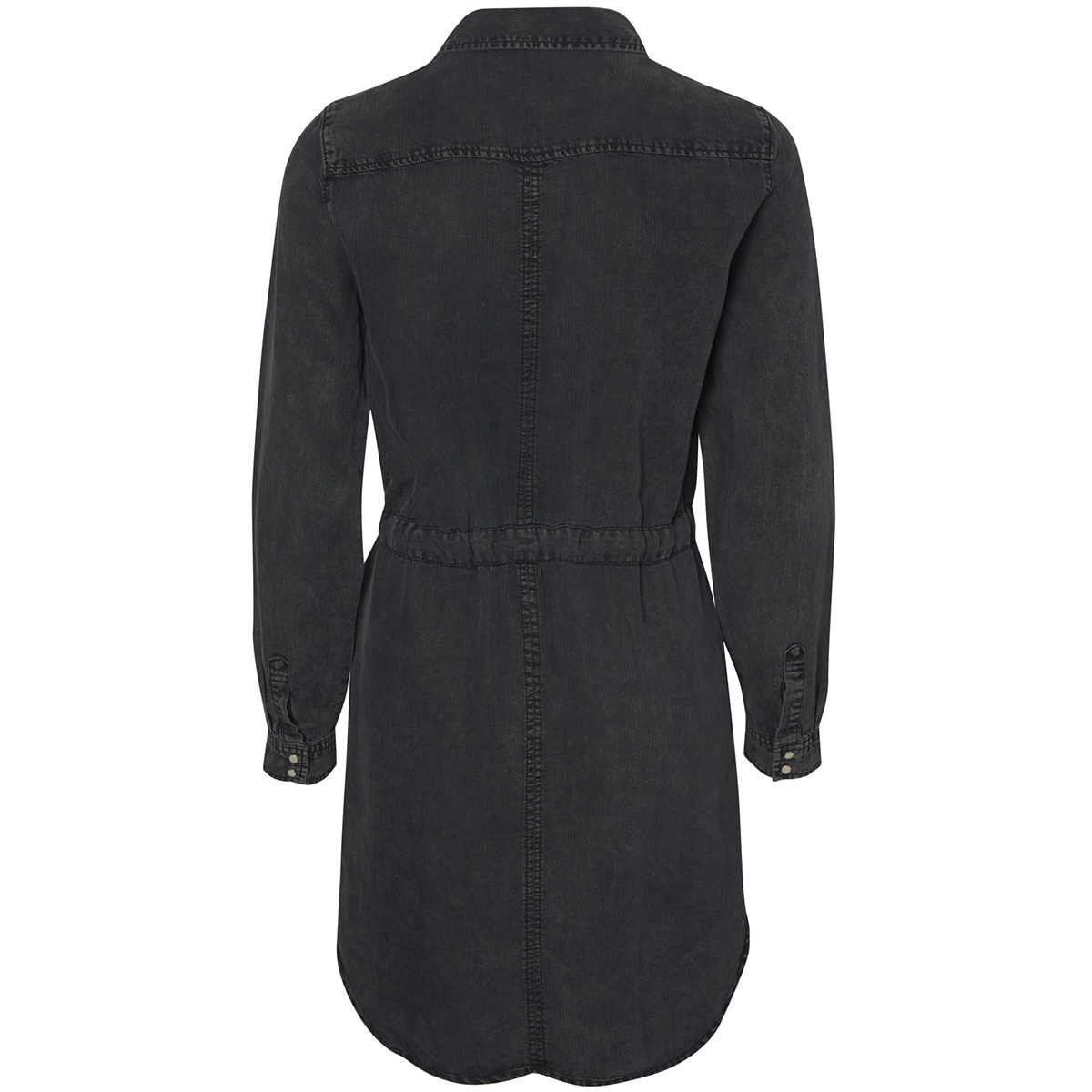 vmspace ls shirt dress 10189827 vero moda jurk black