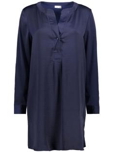 Jacqueline de Yong Jurk JDYTRIPPLEY L/S DRESS WVN 15150854 Evening Blue