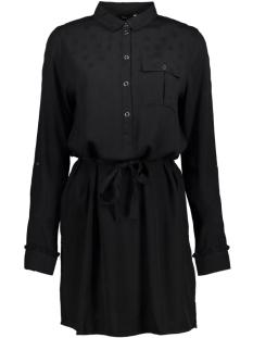 onlvera l/s jacquard shirt dress wv 15146813 only jurk black