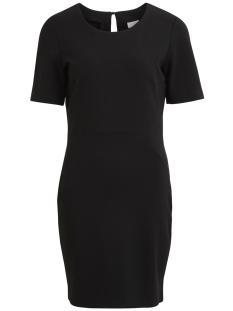 Vila Jurk VIFELLOW S/S DRESS - NOOS 14044489 Black