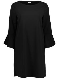 Jacqueline de Yong Jurk JDYBERNADETTE BELL  SLEEVE DRESS JR 15150690 Black