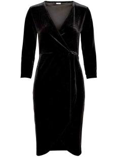 jdysandy 3/4 wrap dress jrs 15150001 jacqueline de yong jurk black