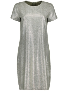 Only Jurk onlDANA ZIP SS DRESS WVN 15154221 Kalamata/SILVER FOI