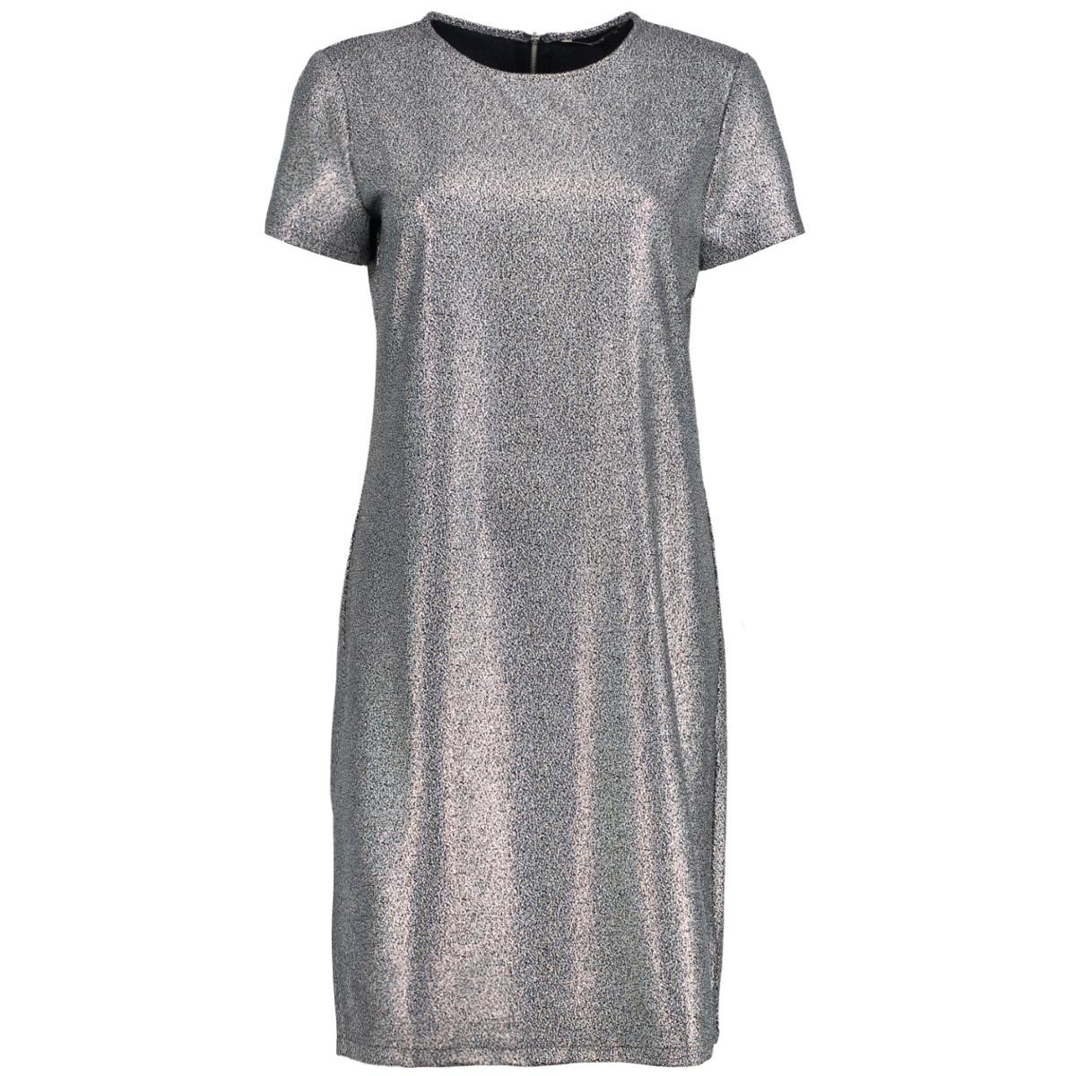 onldana zip ss dress wvn 15154221 only jurk night sky /silver foi