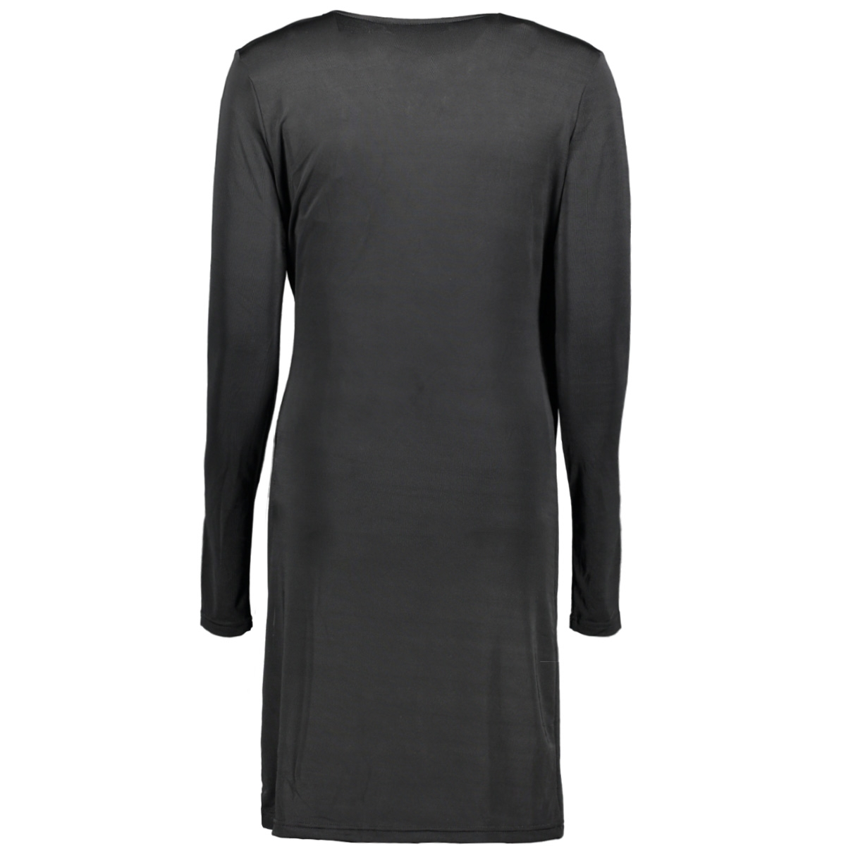 vmnaomi l/s wrap short dress d2-1 10191364 vero moda jurk black