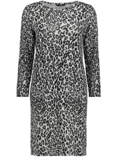 onlelcos short dress 7/8 jrs 15150485 only jurk black/animal lgm