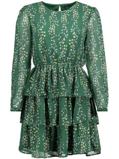 Only Jurk onlDITTE L/S LAYRED DRESS WVN 15153768 Posy Green/FLOWER PRI