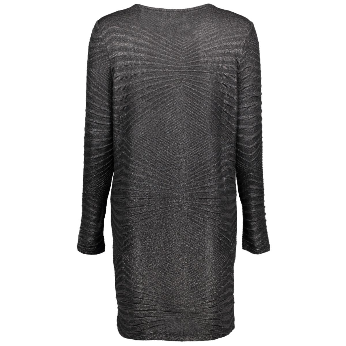 nmcolla heaven l/s boxy dress x 27001495 noisy may jurk black
