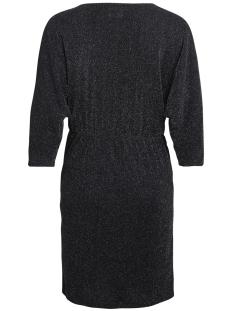 vilau 3/4 sleeve dress 14045415 vila jurk black/with silver