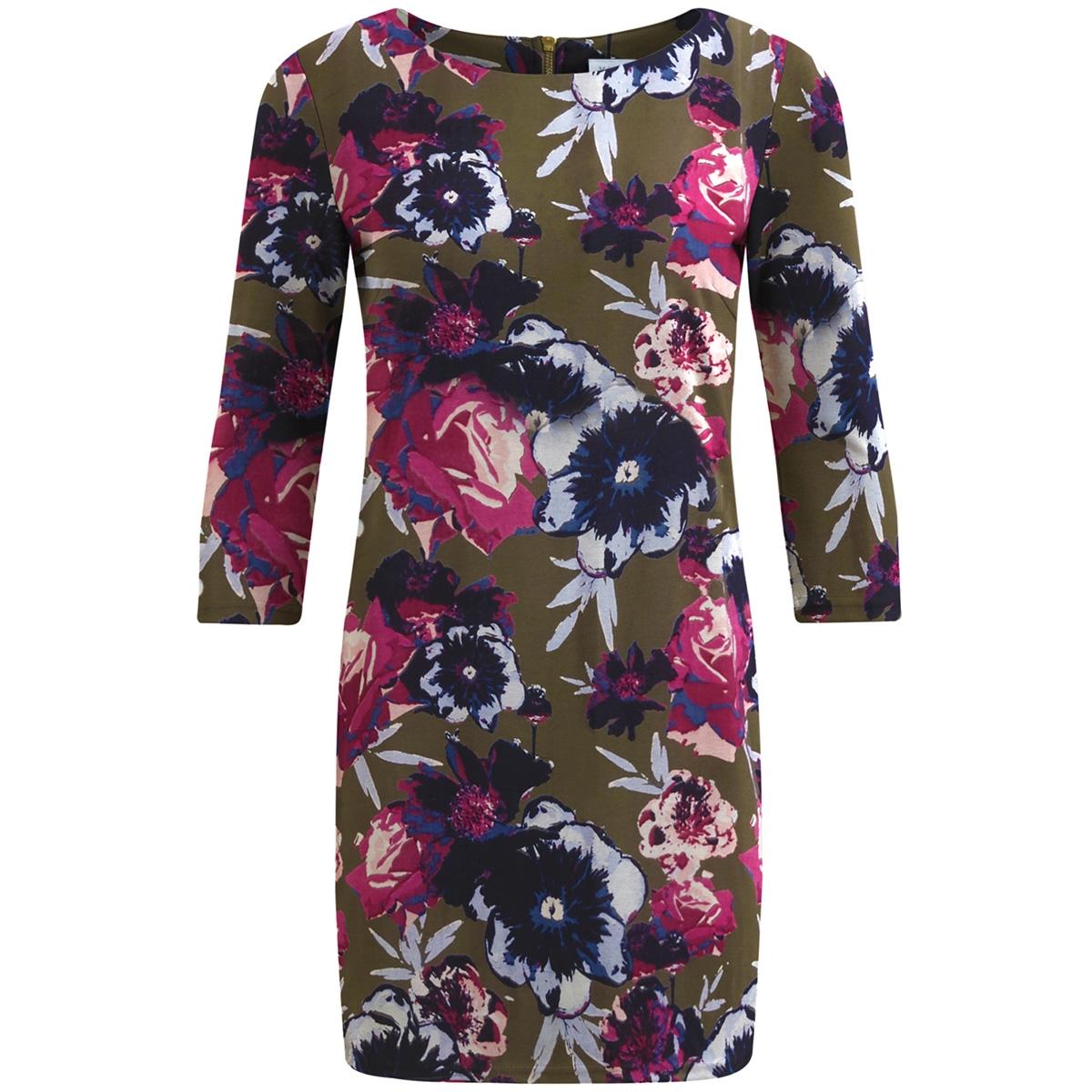 vitinny 3/4 astha dress 14046310 vila jurk ivy green/viastha pr