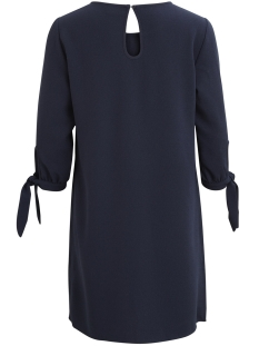 visalina 3/4 knot dress 14045093 vila jurk total eclipse