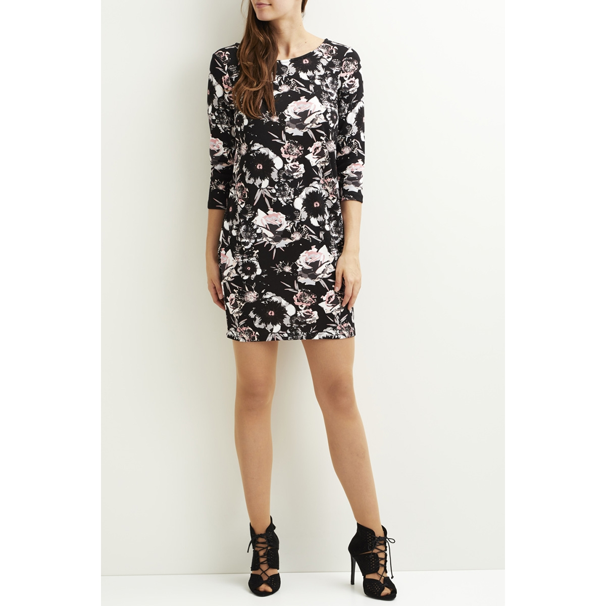 vitinny 3/4 astha dress 14046310 vila jurk black/viastha 2n