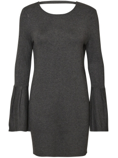 Vero Moda Jurk VMBIGGS GLORY BELL LS DRESS 10182162 Dark grey melange