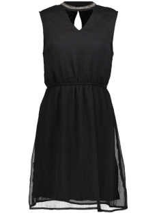 Only Jurk onlDAFNE SARAH S/L CHOCKER DRESS WV 15150278 Black