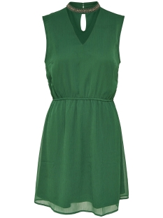 Only Jurk onlDAFNE SARAH S/L CHOCKER DRESS WV 15150278 Dark Green