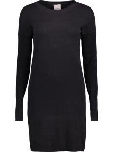 Vero Moda Jurk VMHAPPY AURA LS O-NECK DRESS BOO 10182633 Black