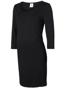 Mama-Licious Positie jurk MLLEA ORGANIC 3/4 DRESS 20007240 Black