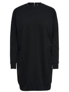 Only Jurk onlTILDA L/S OVERSIZE DRESS JRS 15151011 Black / Black Zipp