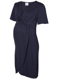 Mama-Licious Positie jurk MLSURI 2/4 ABK JERSEY DRESS 20008170 Black Iris