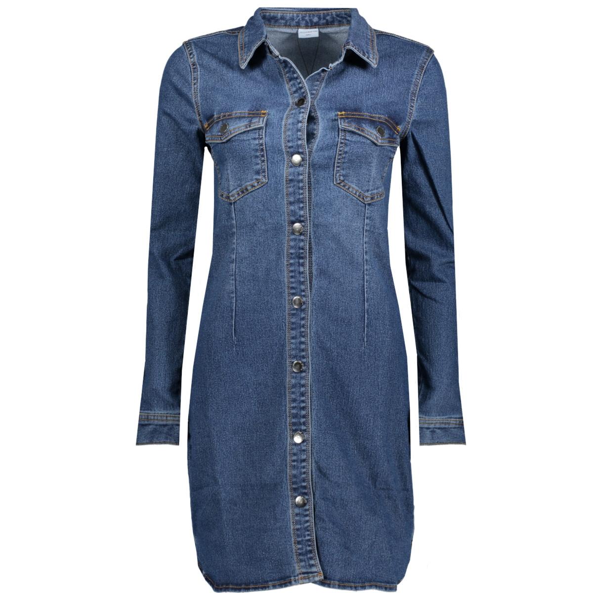 jdysanna denim dress dnm 15147486 jacqueline de yong jurk medium blue denim