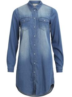 Vila Jurk VIBISTA DENIM DRESS-NOOS 14040911 Medium Blue Den/CLEAN
