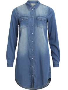 Vila Tuniek VIBISTA DENIM DRESS-NOOS 14040911 Medium Blue Den/CLEAN