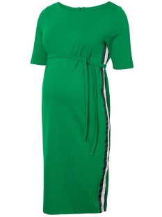 Mama-Licious Positie jurk MLTINE BLACKIE 2/4 JERSEY ABK DRESS 20008754 Pepper Green
