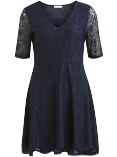 Vila Jurk VIFREJ 2/4 SHORT DRESS 14044377 Total Eclipse