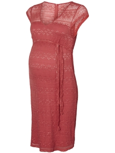 Mama-Licious Positie jurk MLCABRINI CAP LACE ABOVE KNEE DRESS 20008198 Slate Rose