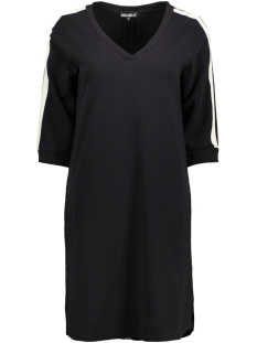 Juul & Belle Jurk JUUL DRESS BLACK/ECRU