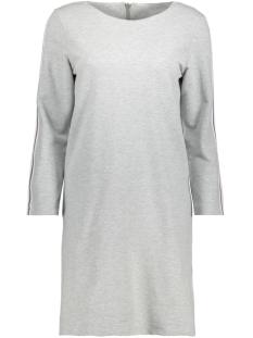 Only Jurk onlSANDY 7/8 DRESS SWT 15152123 Light grey Melange/Stripe