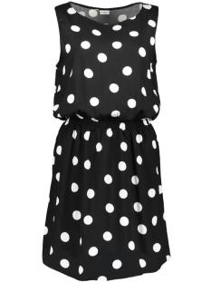 Jacqueline de Yong Jurk JDYVICTORY S/L DRESS WVN 15150050 Black/CLOUD DANC