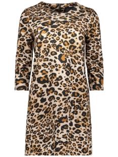 Only Jurk onlPOPTRASH EASY  LEO  ZIP DRESS 15159159 Black