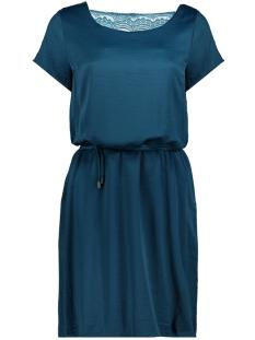 Vila Jurk VICAVA S/S  DRESS - FAV 14045946 Blue Coral