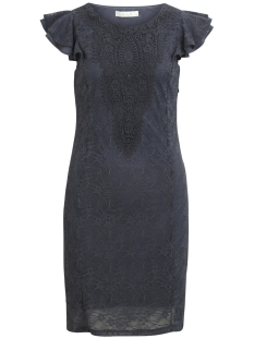 Vila Jurk VIFALLU LACE DRESS/DC 14045784 Grisallle