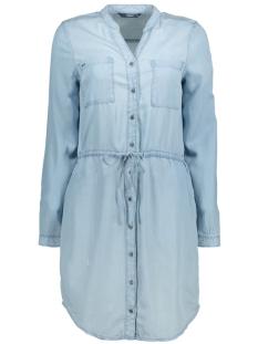 Only Jurk onlHEATHER LS LYOCELL SHIRT DRESS 15152901 Light blue denim