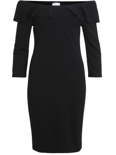 Vila Jurk VINALAN DRESS 14045846 Black