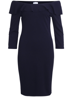 Vila Jurk VINALAN DRESS 14045846 Total Eclipse