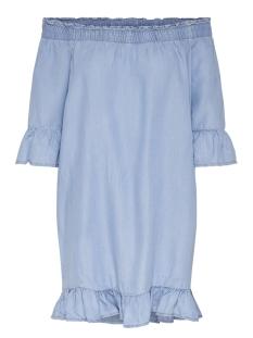 Only Jurk onlNEW SECO OFF SHOULDER DNM DRESS 15150738 Medium Blue Denim