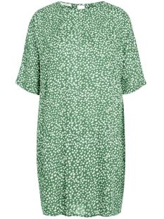 Pieces Jurk PCANITA 2/4 DRESS D2D 17091029 Bright Green/DOTS