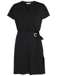 Pieces Jurk PCGINNY WRAP DRESS 17088987 Black